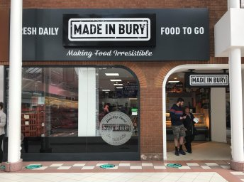 New Store Open – Proudly Made in Bury