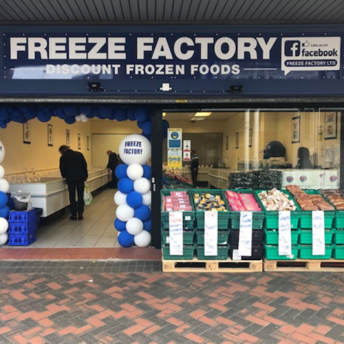 New store - Freeze Factory