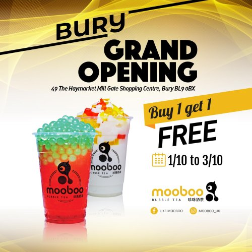 Mooboo opens at Mill Gate!